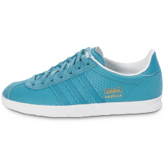 Chaussures adidas Gazelle OG bleue perf