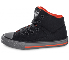 Chaussures Converse Chuck Taylor All-Star Street Mid Enfant noire