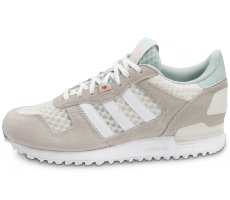 Chaussures adidas Zx 700 W grise et blanche