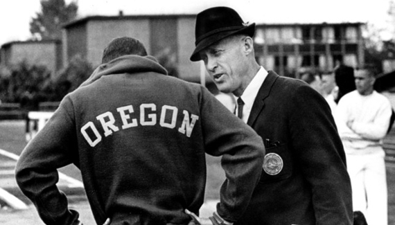 Phil Knight et Bill Bowerman