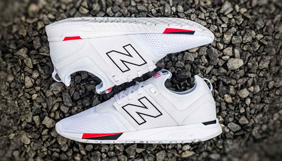 basket new balance 247 blanche