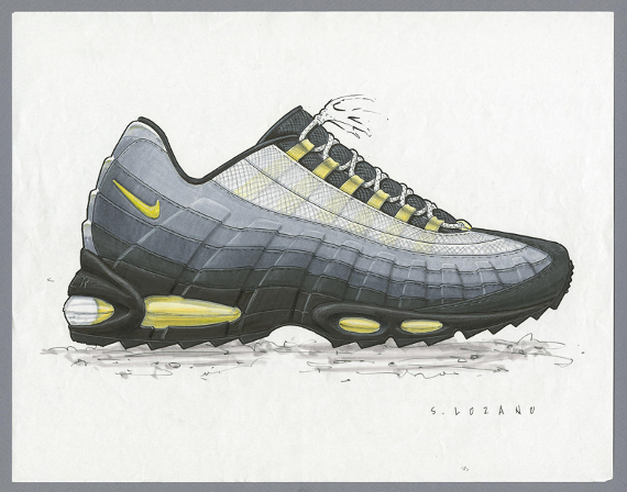 differently outlet picked up L'histoire de la Nike Air Max 95 - Chausport