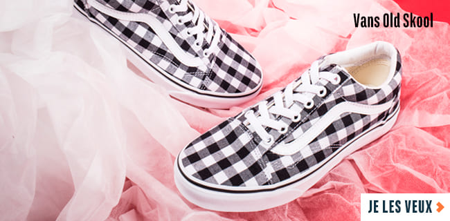 best website 1d5cf b5645 Vans Old Skool Vichy