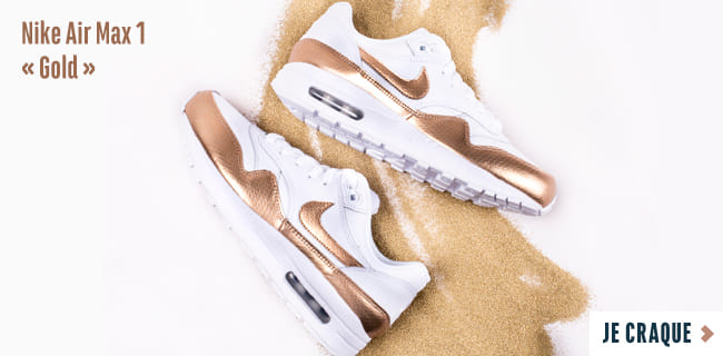 watch 05955 0ed24 Nike Air Max 1 Gold