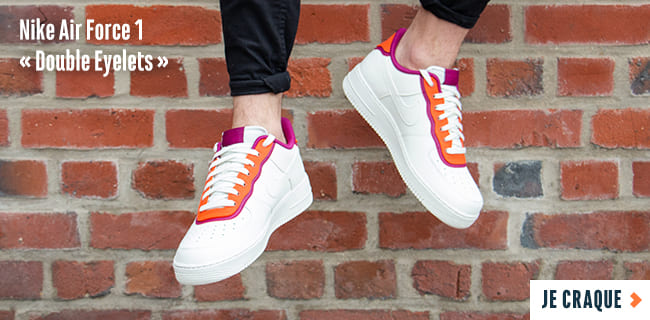 Nike Air Force 1 Double Eyelets