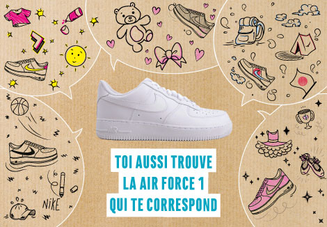 ▷Nike Air Force 1, nouvelle basket Air Force One et